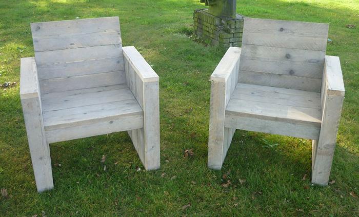 Zelf een steigerhouten stoel maken? Klik voor .pdf!